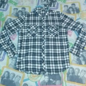 Lifted Research Group LRG Flannel Shirt Vintage